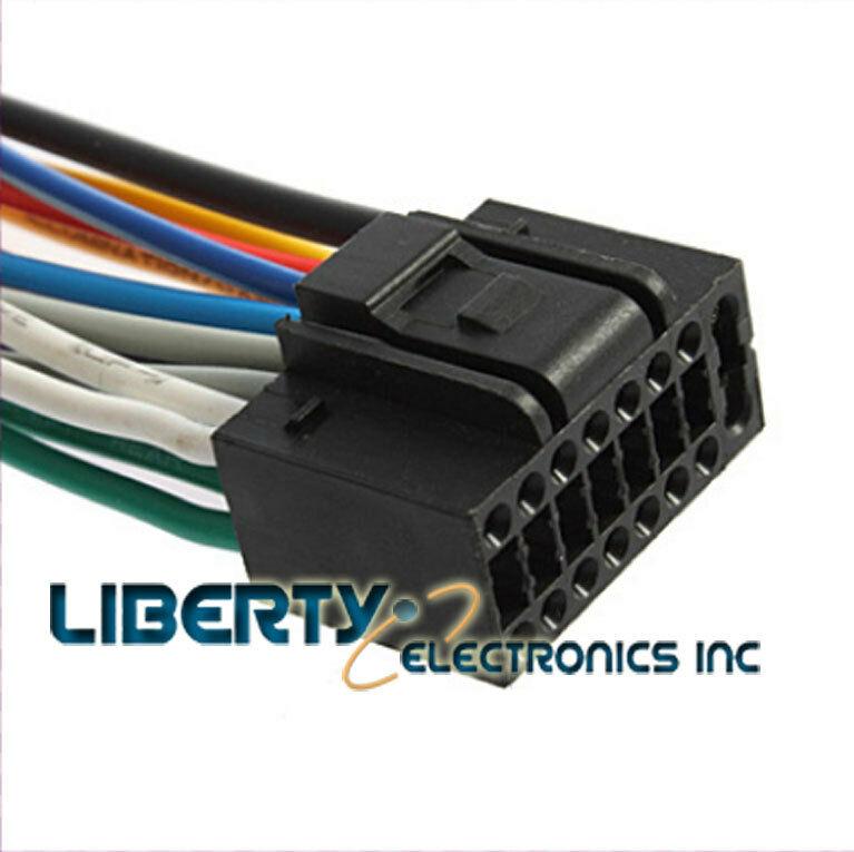 Incredible New 16 Pin Auto Stereo Wire Harness Plug For Jensen Uv10 Player Ebay Wiring Cloud Ittabpendurdonanfuldomelitekicepsianuembamohammedshrineorg