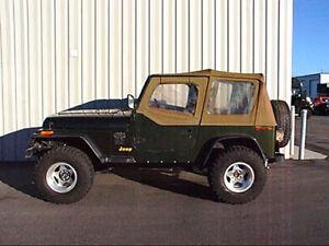 Wondrous 2 Combination Budget Lift Kit For Jeep Wrangler Yj Thru 1995 Ebay Wiring Cloud Licukaidewilluminateatxorg