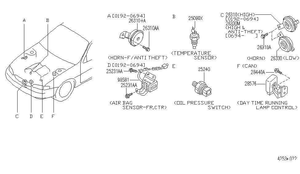 Yg 6116 1995 Infiniti J30 Engine Diagram Free Diagram