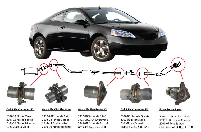 Exhaust Resonator Pipe Fits 2000-2002 Toyota Echo