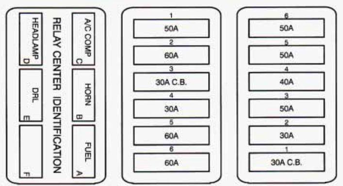 fuse diagram 2002 dts wy 9278  fuse box 2000 cadillac seville  wy 9278  fuse box 2000 cadillac seville