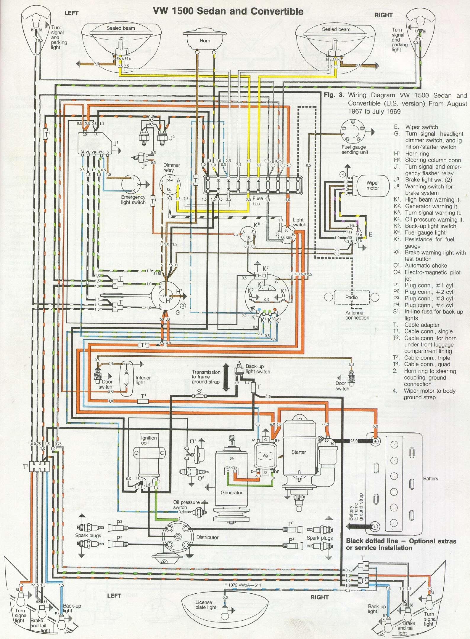 vw bus heater diagram 1967 volkswagen beetle wiring diagram general wiring diagrams  1967 volkswagen beetle wiring diagram