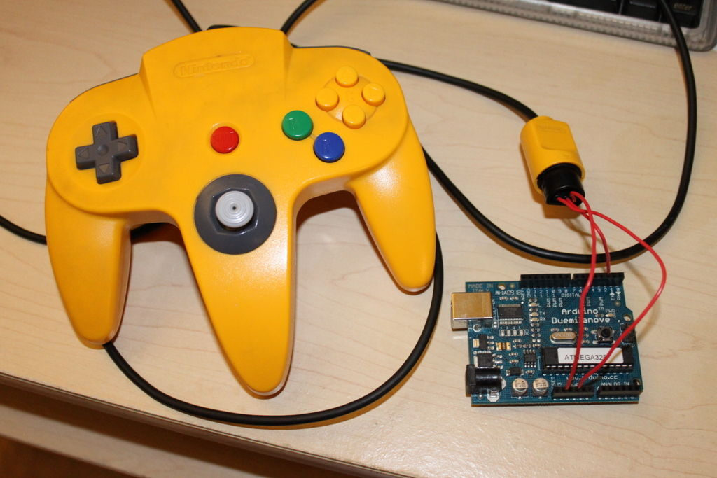 Marvelous Use An Arduino With An N64 Controller 5 Steps With Pictures Wiring Cloud Cranvenetmohammedshrineorg