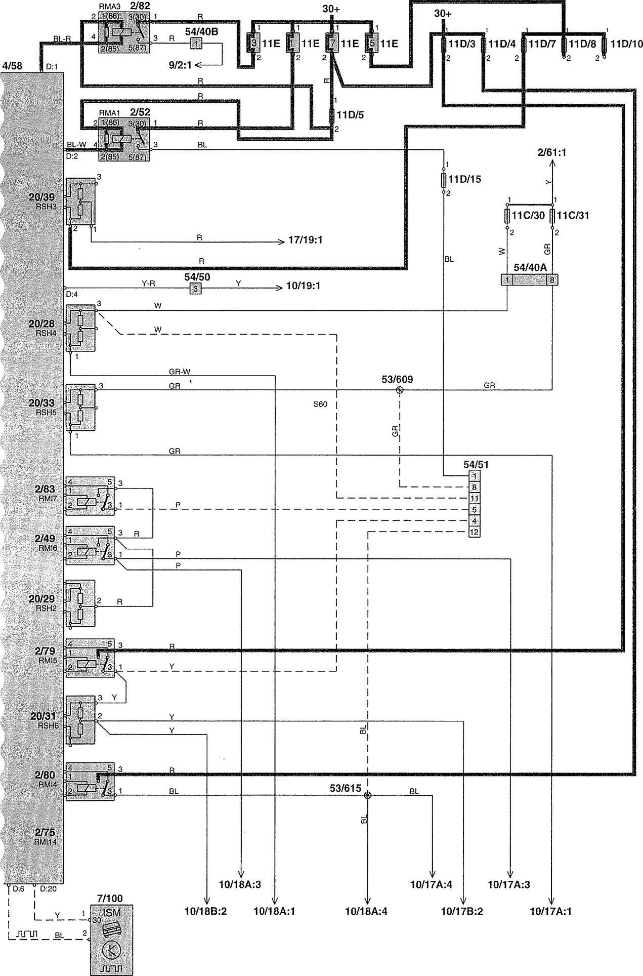 Volvo S70 Radio Wiring Diagram