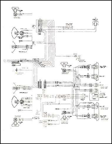 Admirable 1978 Chevy Impala And Caprice Classic Foldout Wiring Diagram Original Wiring Cloud Ymoonsalvmohammedshrineorg