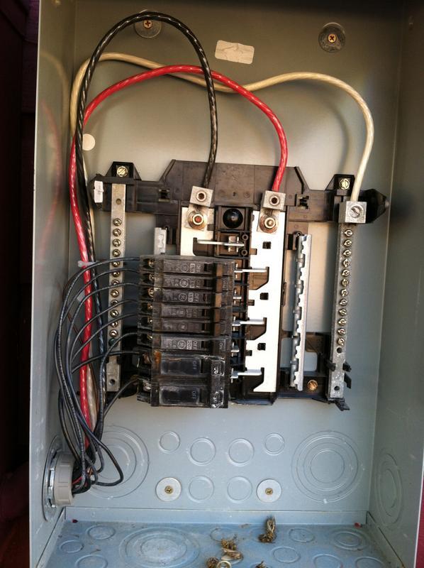 Ge Sub Panel Wiring Diagram - Wiring Diagram