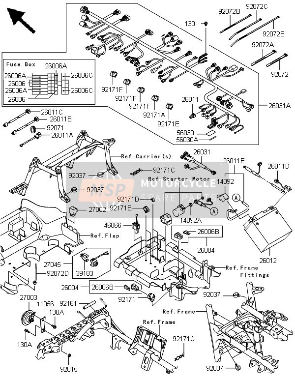 2005 Kawasaki Brute Force 750 Wiring Diagram