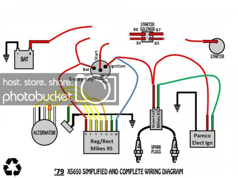 79 Xs650 Bobber Wiring Diagram Vm9214 Wiring Harness Bege Wiring Diagram