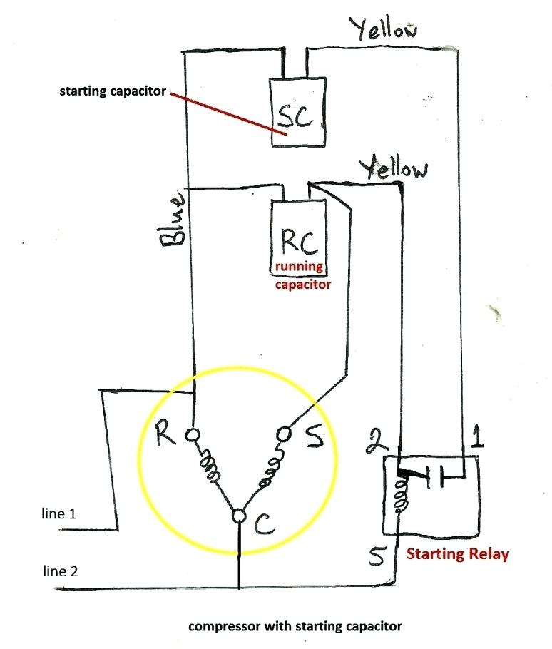 NO_2584] Compressor Wiring Diagram For Capacitors Free DiagramWned Subd Shopa Mohammedshrine Librar Wiring 101
