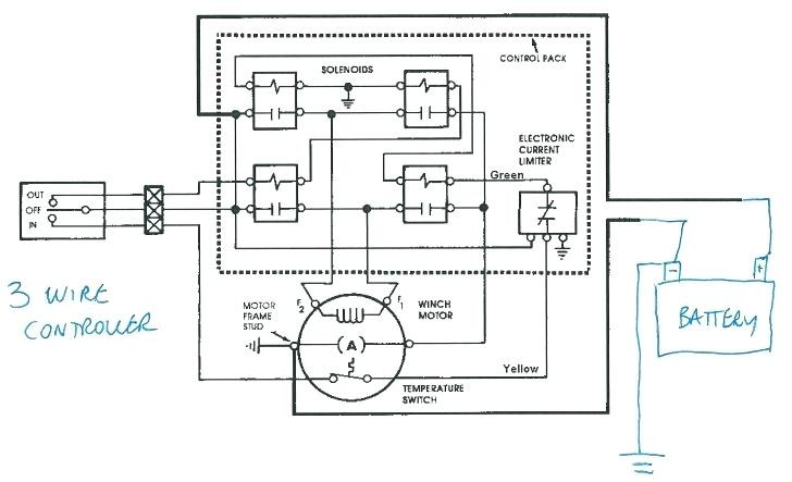 Dayton Electric Winch Wiring Diagram