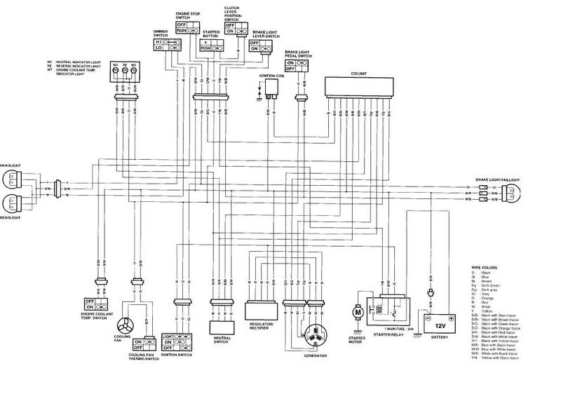Free Suzuki Atv Wiring Diagrams