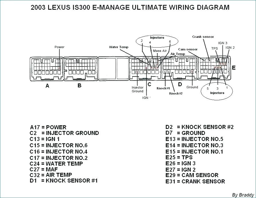 Wiring Diagram For 2002 Is300