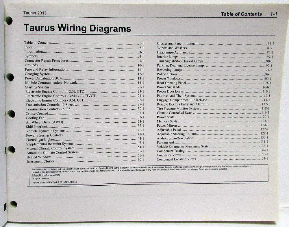 2013 Ford Taurus Wiring Diagram Wiring Diagrams Electro Electro Chatteriedelavalleedufelin Fr