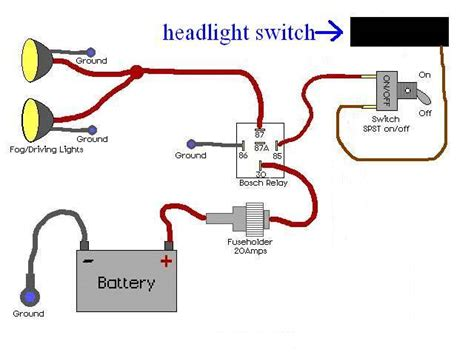 Driving Light Wiring Diagram With Relay from static-cdn.imageservice.cloud