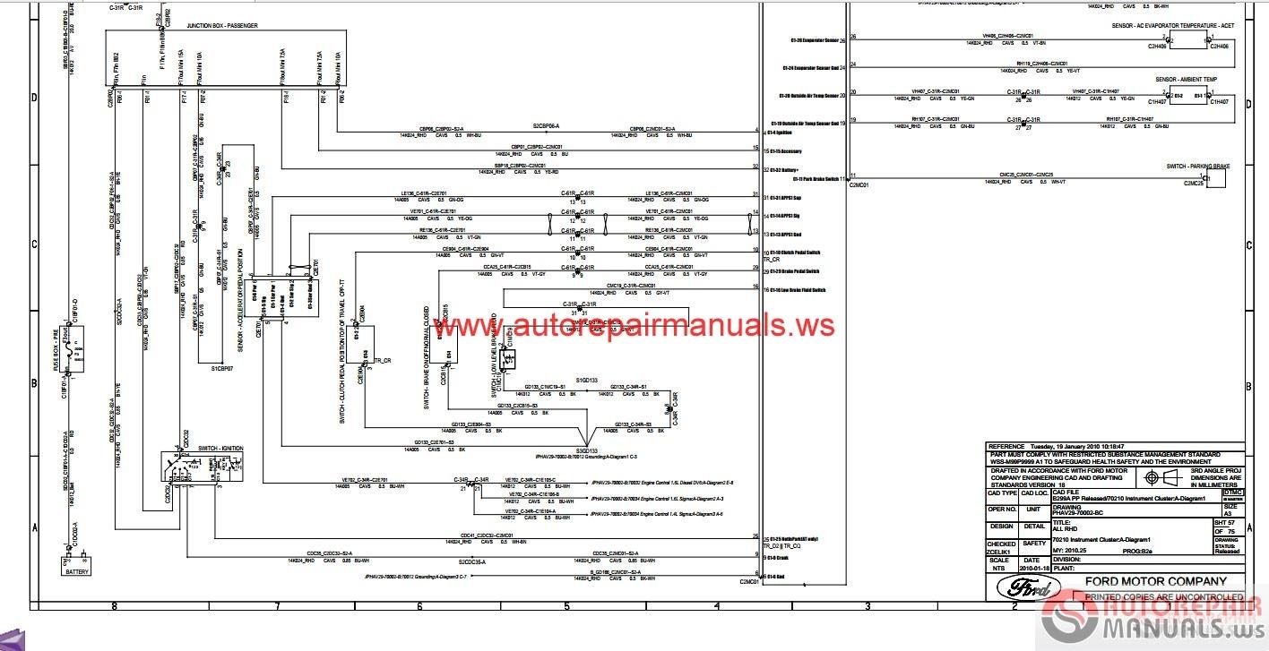 Pleasant Wiring Diagram For Ford Fiesta Wiring Diagram Wiring Cloud Staixaidewilluminateatxorg