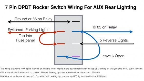 Or 4131 Double Rocker Switch Wiring Diagram Internal