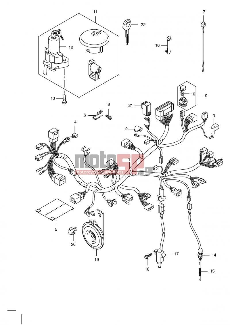 Excellent Suzuki Drz400Sm Wiring Diagram Auto Electrical Wiring Diagram Wiring Cloud Overrenstrafr09Org