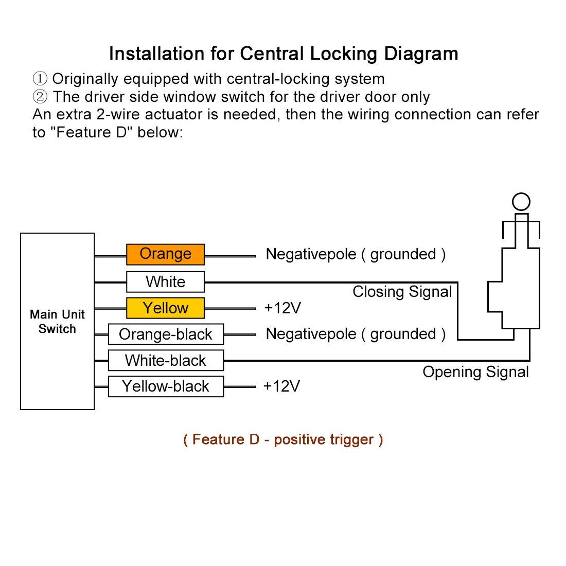 Go 7188 Universal Door Lock Actuator Wiring Diagram Download Diagram