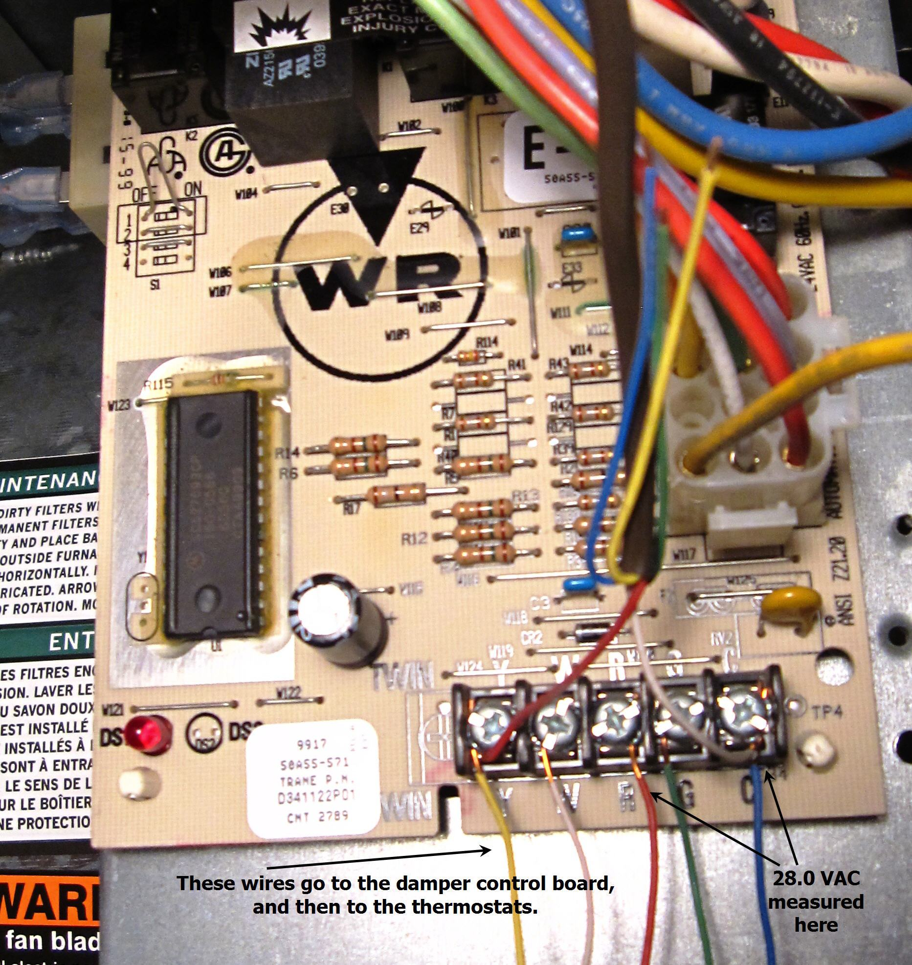 Furnace Circuit Board Wiring Diagram Wiring Diagrams