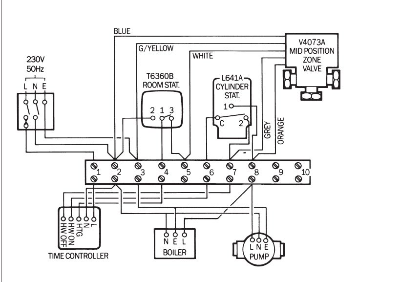 ro1642 port motorised valve wiring diagram 3 port valve