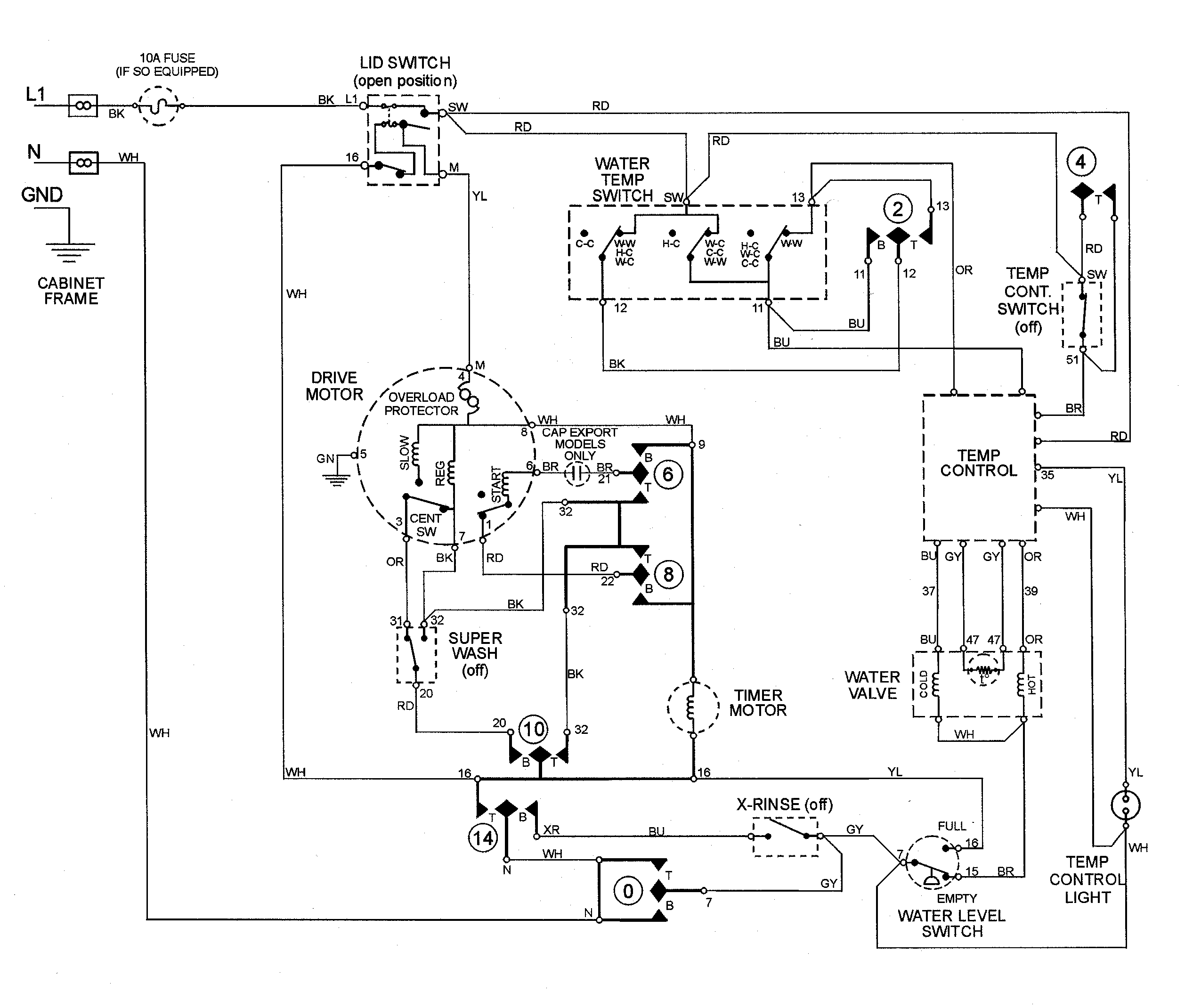Ge Profile Microwave Wiring Diagram