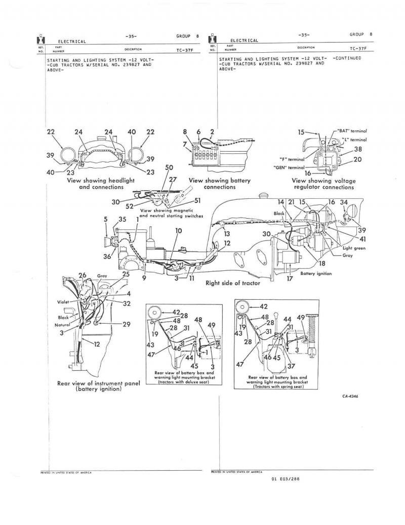 wiring diagram for farmall h av 7084  wiring for farmall a together with farmall cub tractor  farmall cub tractor