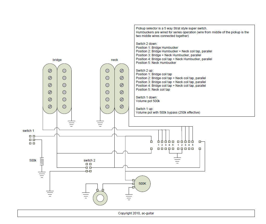 [DIAGRAM_5UK]  GC_9602] Guitar Wiring Diagram Two Humbuckers 1 Volume 1 Tone   Free Download Rg Wiring Diagram 3 Way Selector      Benkeme Inrebe Mohammedshrine Librar Wiring 101