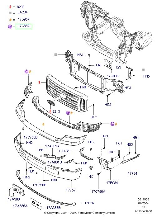 2000 ford expedition trailer wiring diagram sw 6262  ford f150 parts diagram 2007 schematic wiring  ford f150 parts diagram 2007 schematic