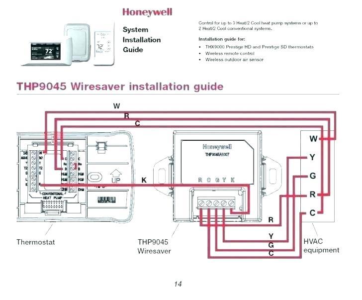 Honeywell Prestige Thermostat Wiring Diagram