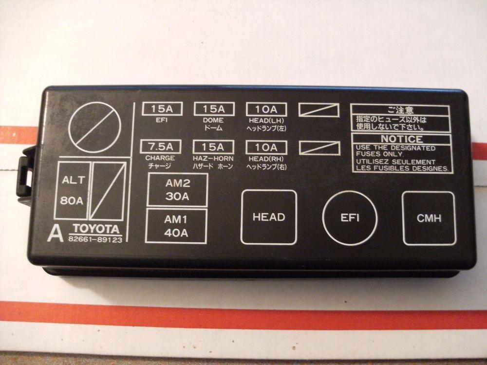 FS_9179] 93 Toyota Pickup Fuse Box DiagramPhan Spon Gentot Icaen Shopa Mohammedshrine Librar Wiring 101