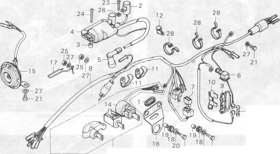 Wire Diagram  Skema Kabel Body Honda Win