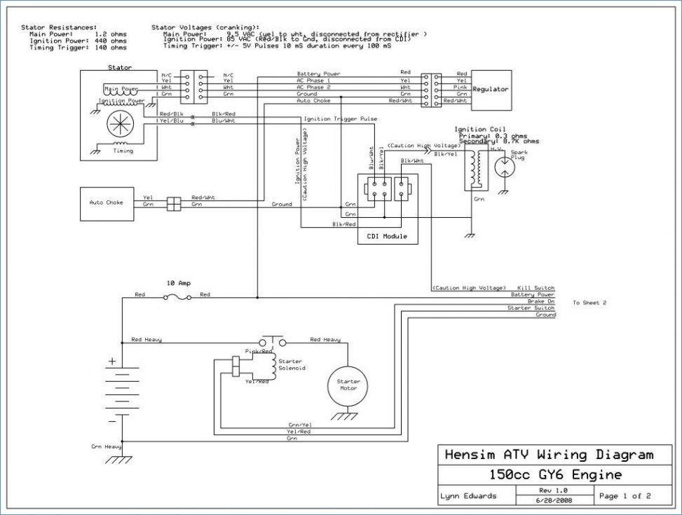ts6520 gy6 150cc wiring diagram as well 150cc gy6 engine