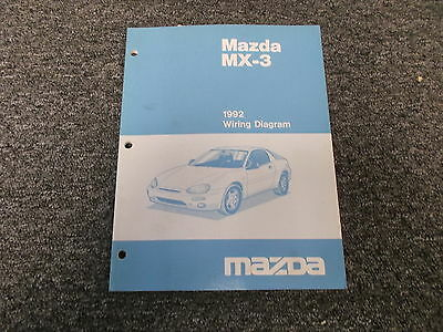 Ck 6748 1993 Mazda Mx3 Wiring Diagram Manual Original Wiring Diagram