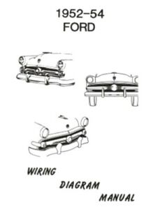 Xd 2885 1954 Ford Crestline Wiring Diagram Download Diagram