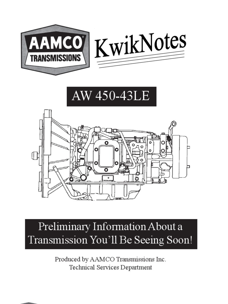 Automatic Transmission 450 43le Wiring Diagram - Wiring Diagrams DataUssel