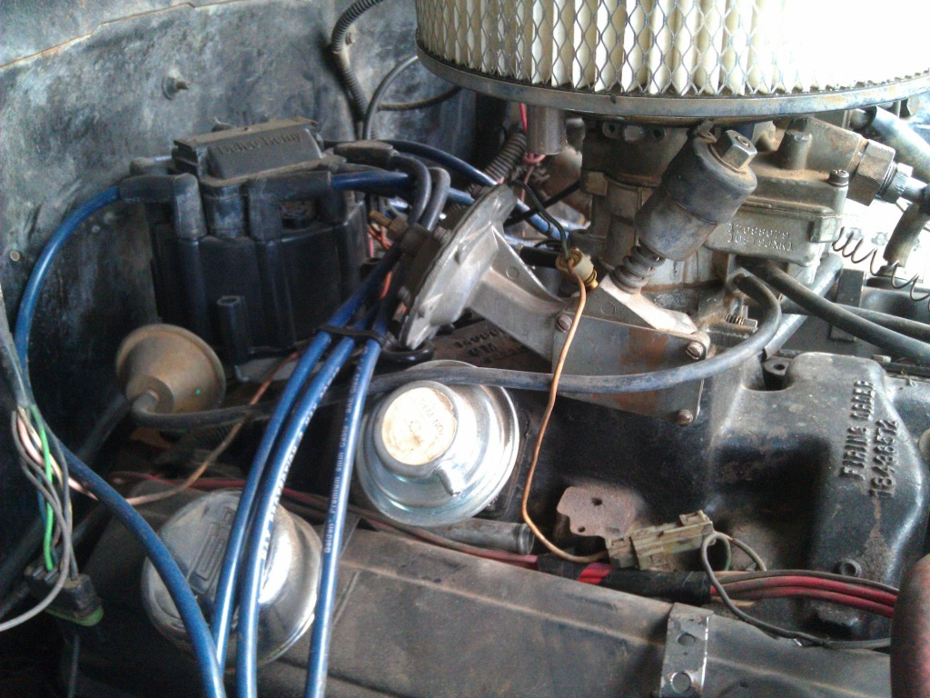 Rv 4709 Chevy Electric Choke Wiring In Addition 1984 Chevy S10