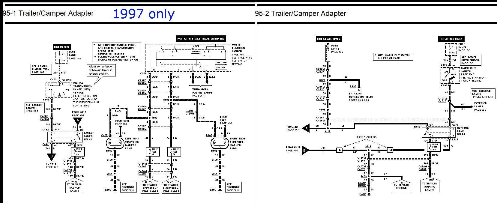 1998 ford f 150 wiring harness diagram hy 3447  1998 ford f 150 wiring diagrams schematic wiring  1998 ford f 150 wiring diagrams