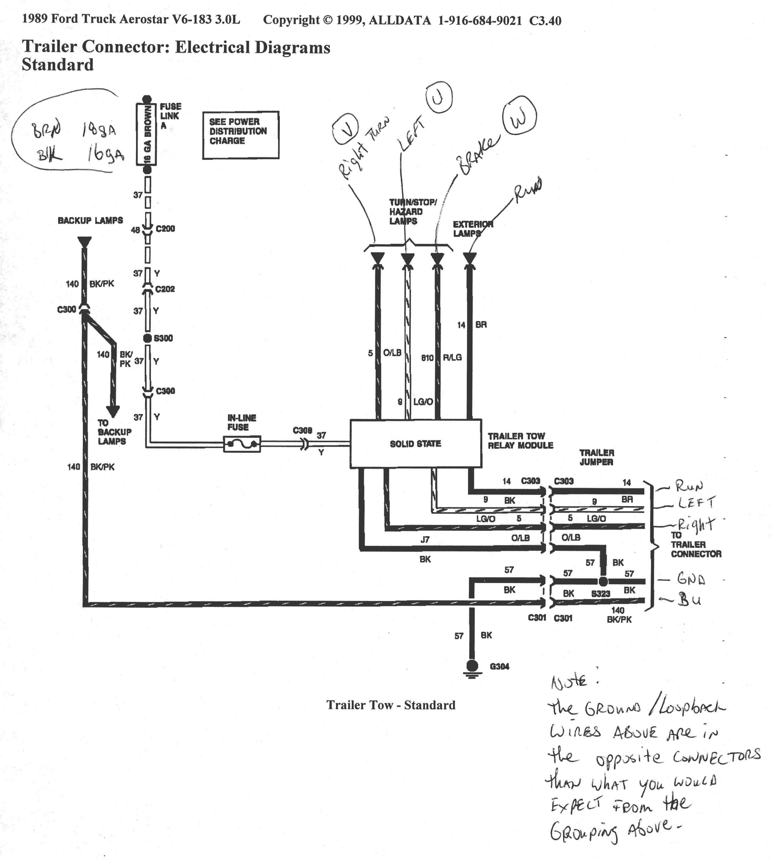 Za 4111 1994 Ford F 150 Radio Wiring Diagram Free Diagram