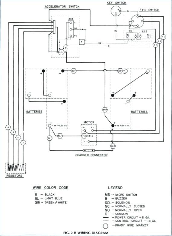 ezgo gas marathon wiring diagram  wiring diagram circuit