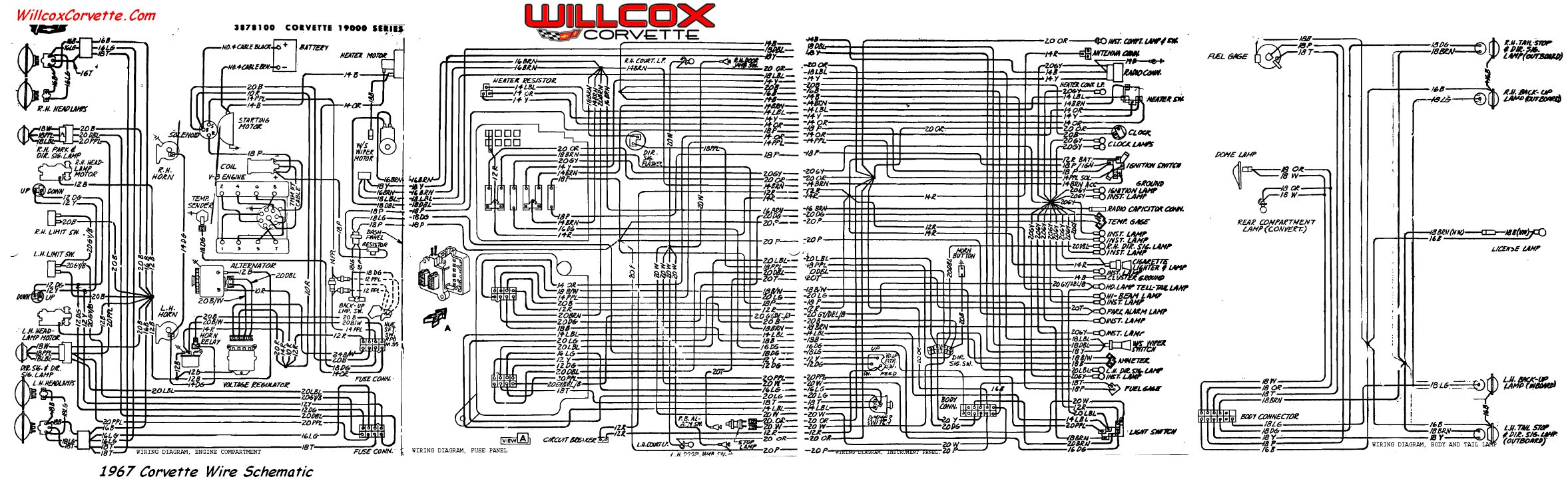 1973 Corvette Wiring Diagram Free