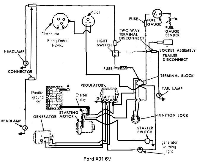 zg2558 ford tractor wiring diagram in addition ford 4000