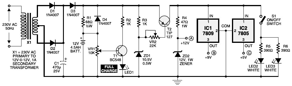 Surprising Mini Ups Project Electronic Schematic Diagram Wiring Cloud Hemtegremohammedshrineorg