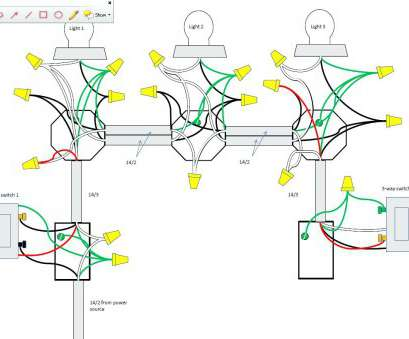 Astonishing How To Wire Way Switch With 8 Lights Practical Christmas Light Wiring Cloud Hemtegremohammedshrineorg