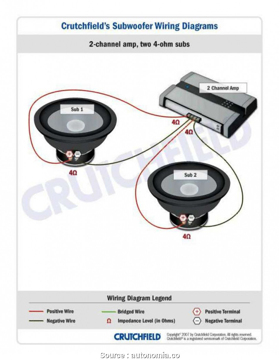 Ob 2730 To Hook Up Dual Voice Coil Sub On Speaker Voice Coil Wiring Diagram Free Diagram