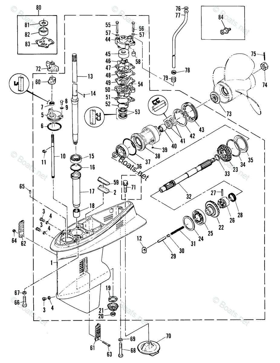 Fe 2620 Lower Unit Diagram On 40 Hp Mercury Outboard Lower Unit Parts Diagram Download Diagram