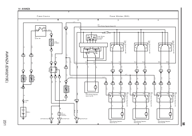 Wiring Diagram Power Window Xenia - Subaru O2 Sensor Wiring Diagram for Wiring  Diagram SchematicsWiring Diagram Schematics