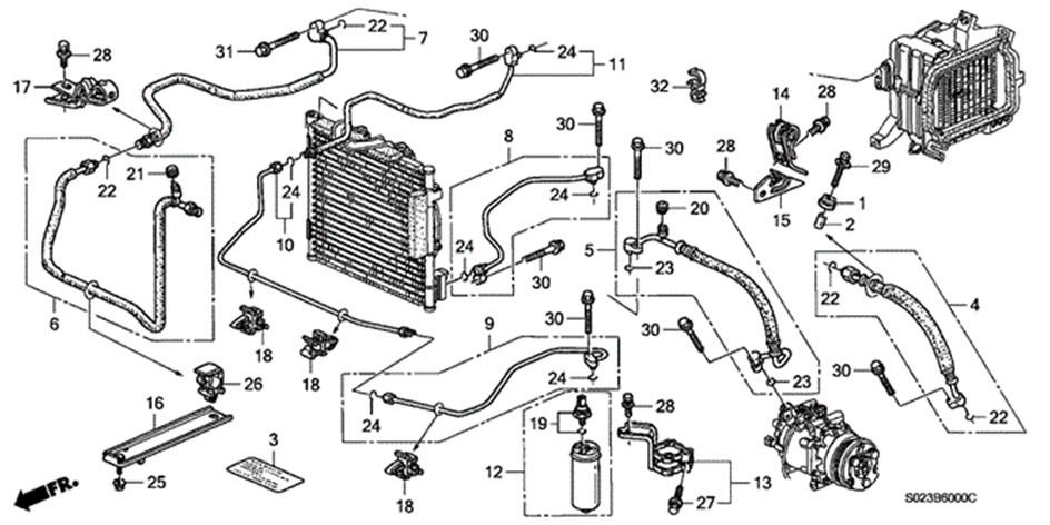 2003 Honda Crv Parts Diagram - Latest Cars