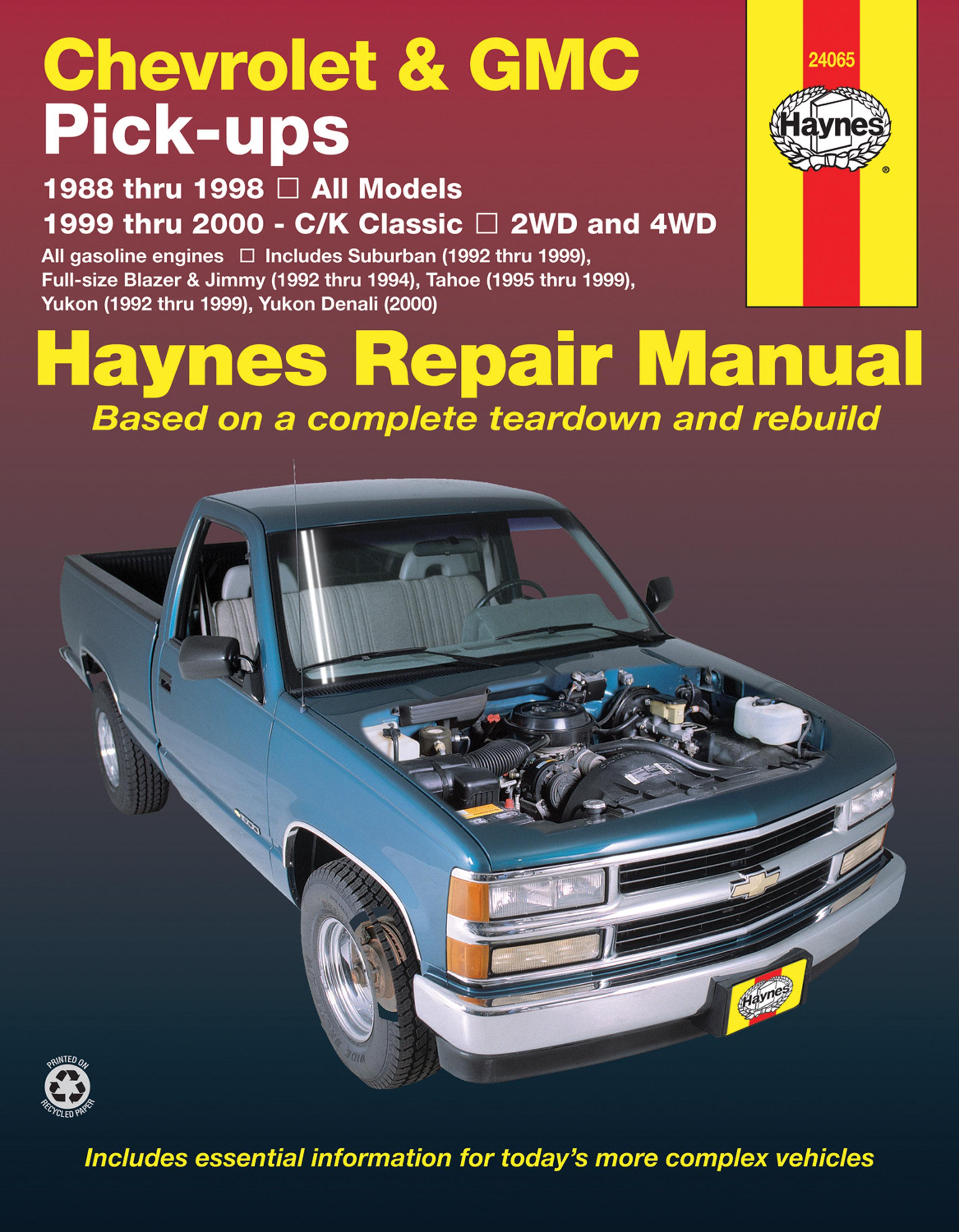 Amazing C K 1500 Haynes Manuals Wiring Cloud Ymoonsalvmohammedshrineorg