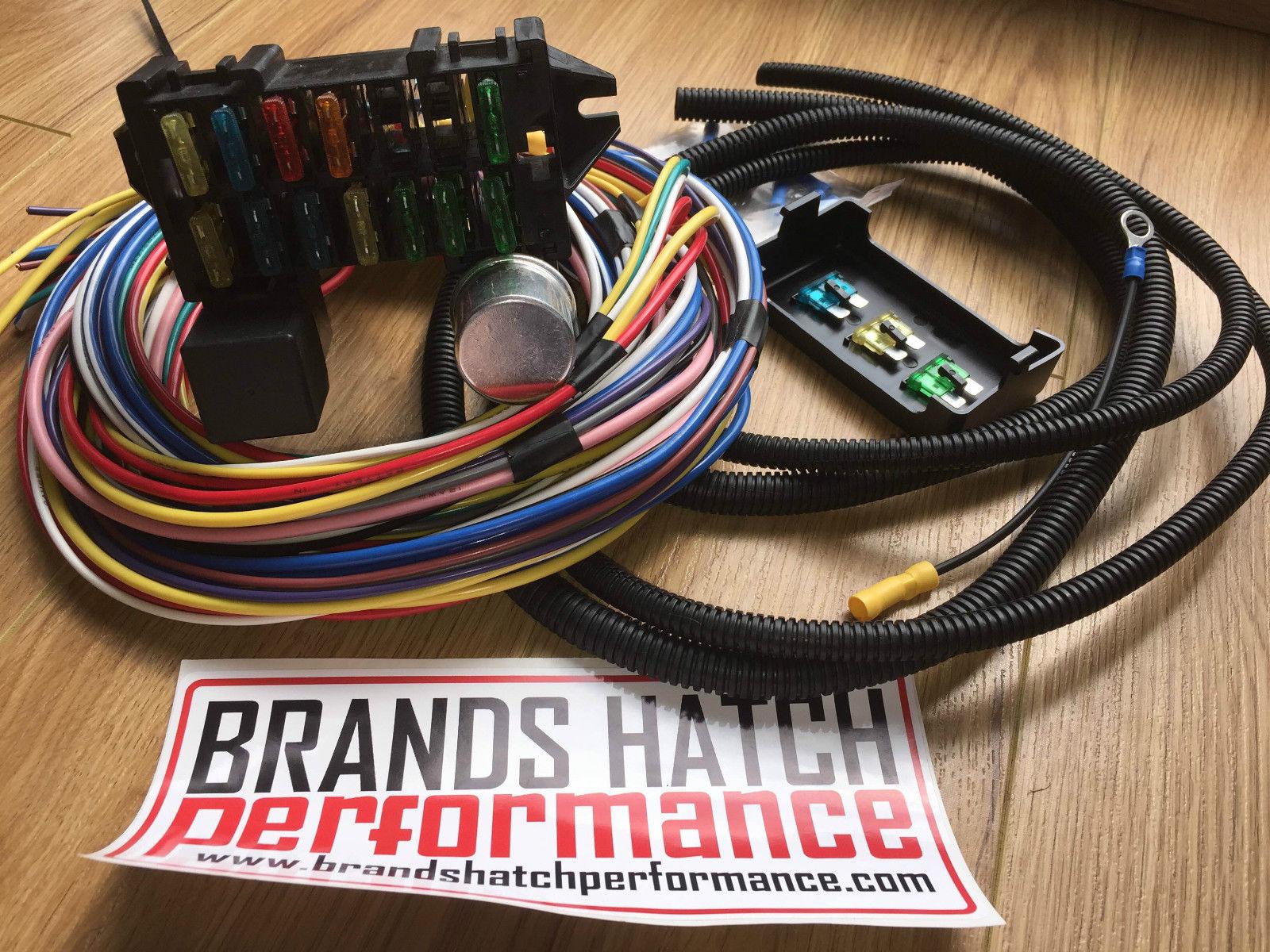 Strange Classic Car Kit Car Hot Rod Wiring Looms Wiring Cloud Intelaidewilluminateatxorg