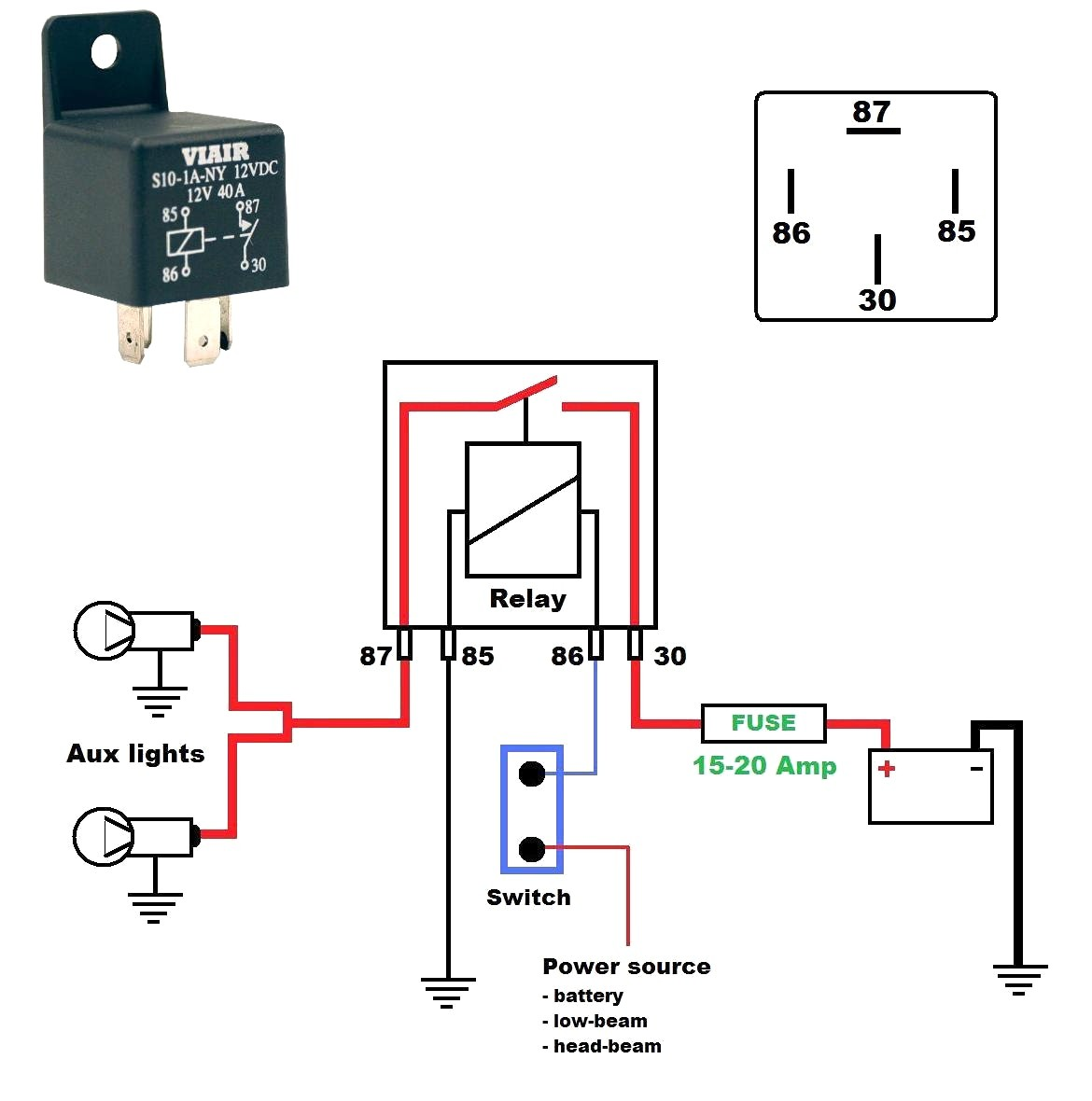 12V 30A Relay Wiring Diagram from static-cdn.imageservice.cloud